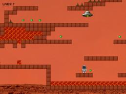 Mars JavaScript Game